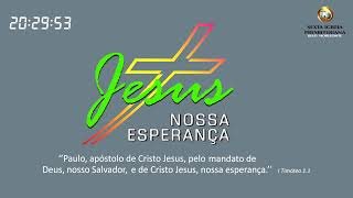 """Hebreus 6.13-20 """"Ancorados em Cristo, nossa esperança, impossível estar mais seguro do que isso!"""