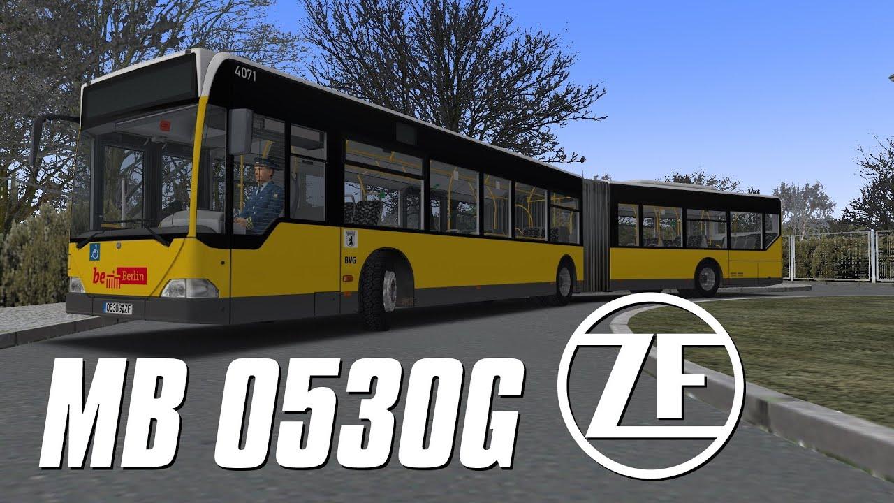 OMSI 2 - Mercedes-Benz O530G Citaro ZF 5HP500 - YouTube