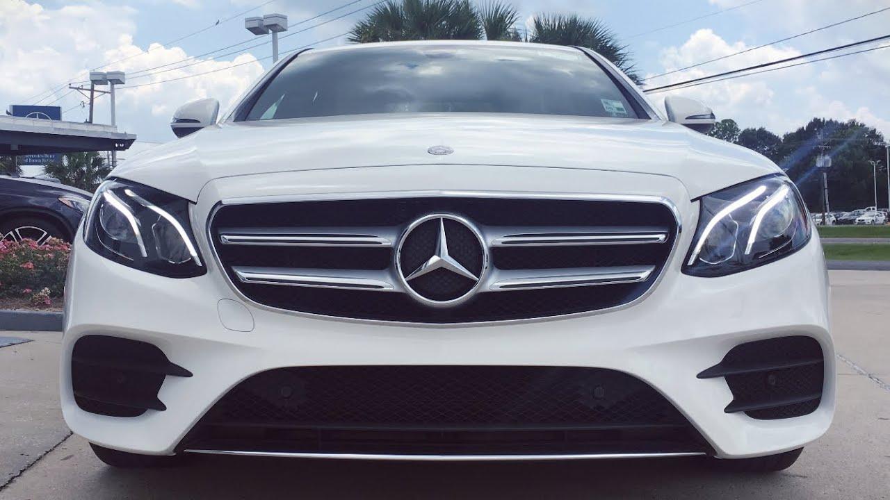 2017 Mercedes Benz E Cl E300 Review Start Up Exhaust