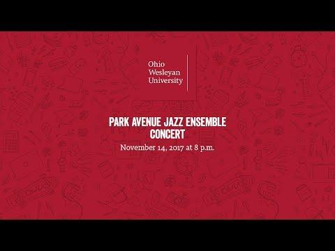 November 14, 2017: Park Avenue Jazz Ensemble Concert