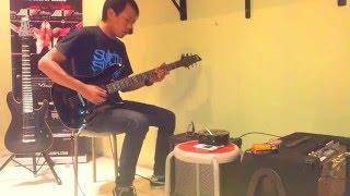 belajar gitar e major scale
