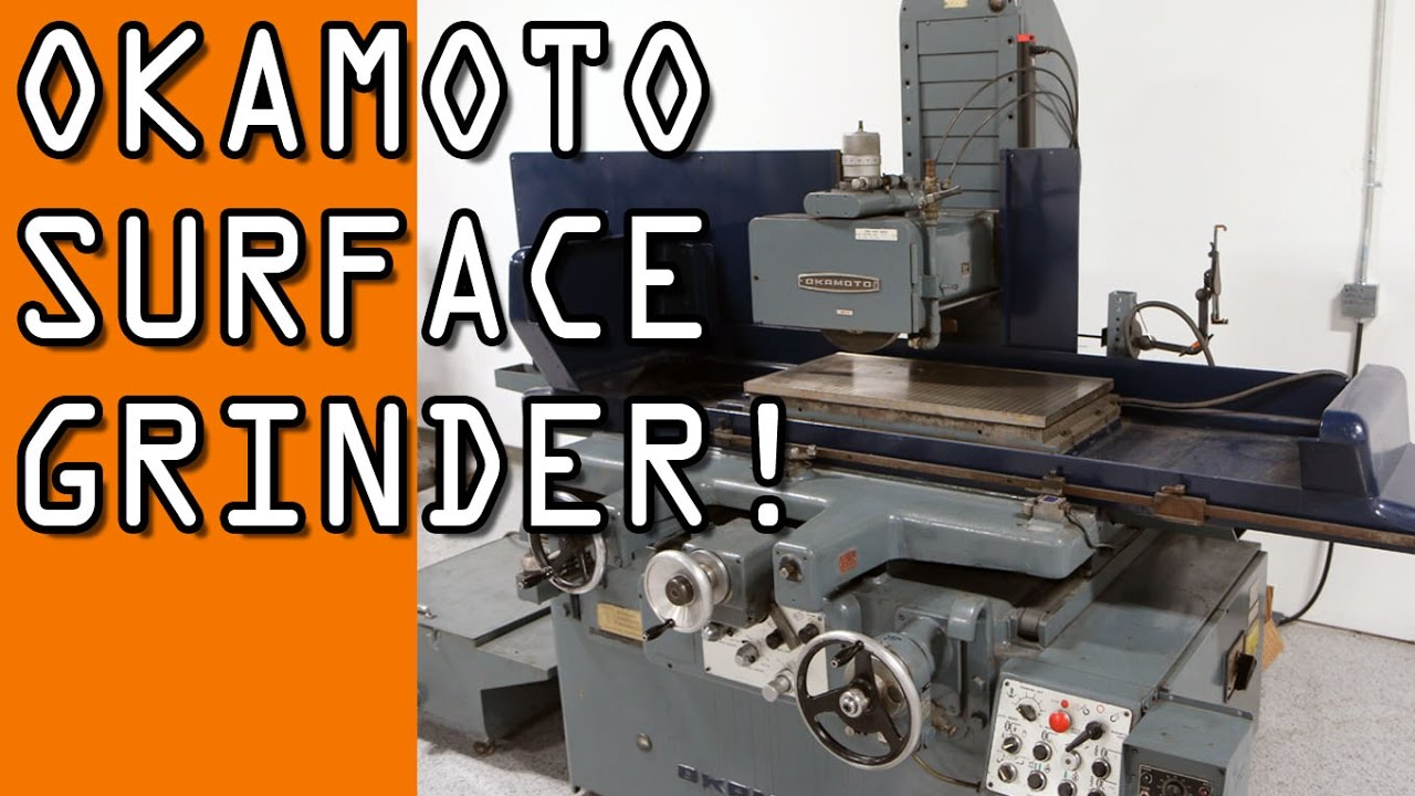 Installing Okamoto Surface Grinder! - YouTube on grinder motor, grinder accessories, grinder pumps diagram, grinder parts,