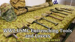 World War 2: USMC Entrenching Tools and Covers   Collector's & History Corner