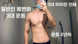 헬스2년차 몸변화&수행능력
