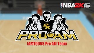 North Carolina Tar Heels #2KProAM Creation