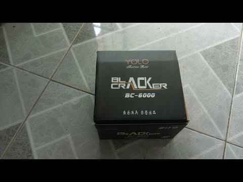 400k máy câu BLack Cracker yolo 6000 ( BC 6000 )