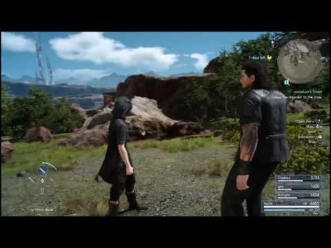 FINAL FANTASY XV - Flickering textures bugs PS4 - YouTube