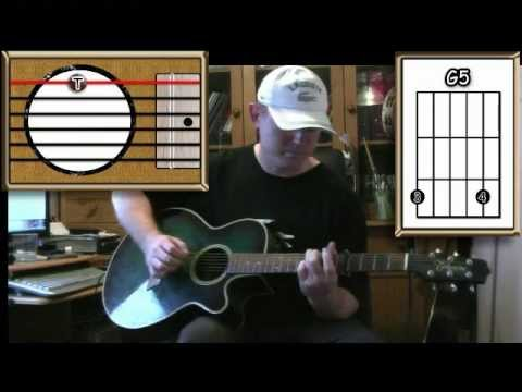 All The Things I Wasn't - The Grapes of Wrath - Acoustic Guitar Lesson