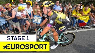 Tour de France 2019   Stage 1 Highlights   Cycling   Eurosport