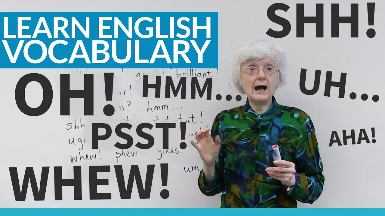 Interjections! Yay! Hmm? What are they? · engVid