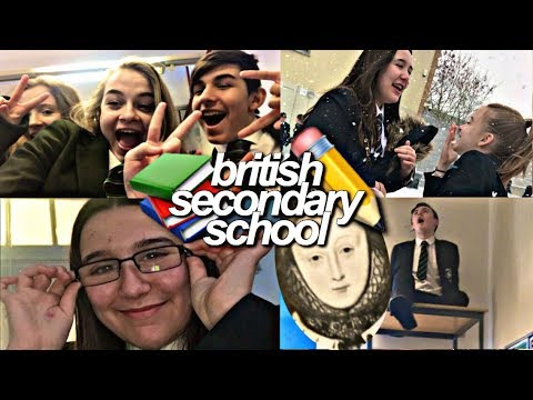 A day in the life of BRITISH SECONDARY SCHOOL