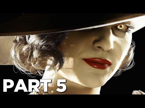 RESIDENT EVIL 8 VILLAGE Walkthrough Gameplay Part 5 - LADY DIMITRESCU (FULL GAME)
