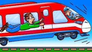 Что Произойдет, Если Поезд Будет Двигаться со Слишком Большой Скоростью