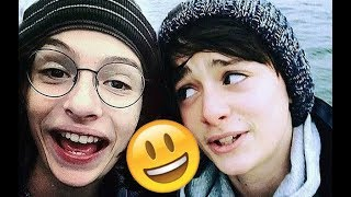 Stranger Things Cast 😊😊😊 - Finn, Millie, Noah and Gaten CUTE AND FUNNY MOMENTS 2018 #5