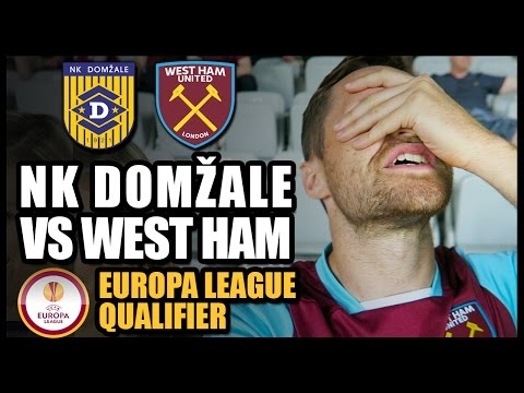 NK DOMŽALE vs WEST HAM - Europa League Qualifier 2016/17