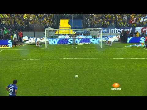 Final vuelta C2013 América  Cruz Azul  Goles del Ame y penalties. HD Narración Original