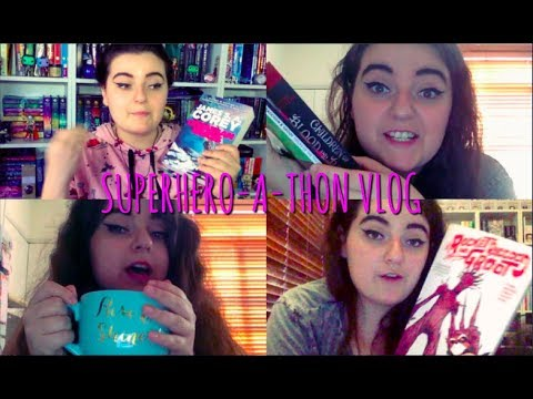 """My First """"Vlogging a Read-a-thon"""" Experience 