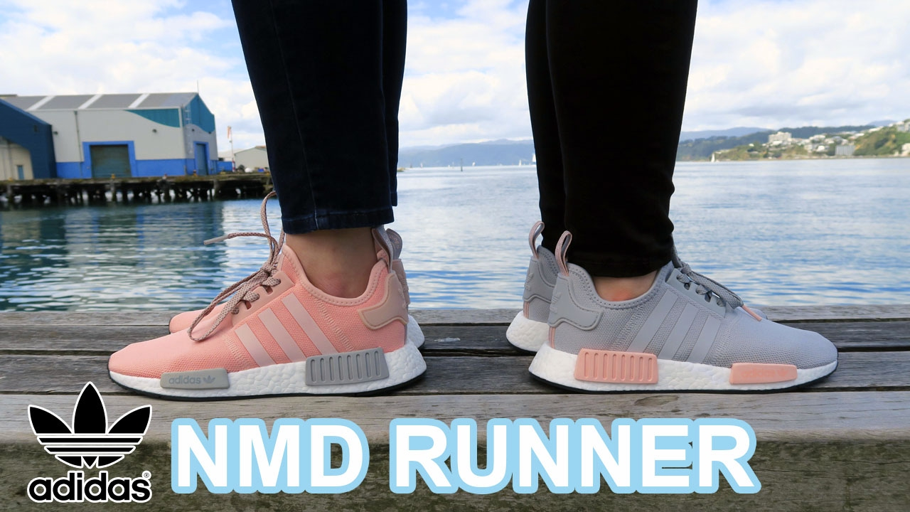 new concept 0b0b7 f59ed ADIDAS NMD RUNNER VAPOUR PINK LIGHT ONIX  CLEAR ONIX LIGHT ONIX VAPOUR PINK  EXCLUSIVE
