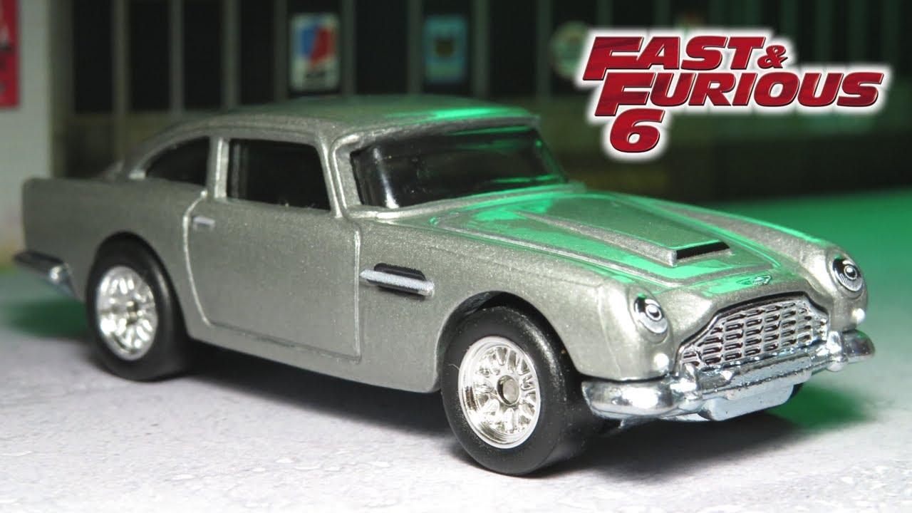 Hot Wheels Aston Martin Db5 Euro Fast Fast Furious Premium 2020 Youtube