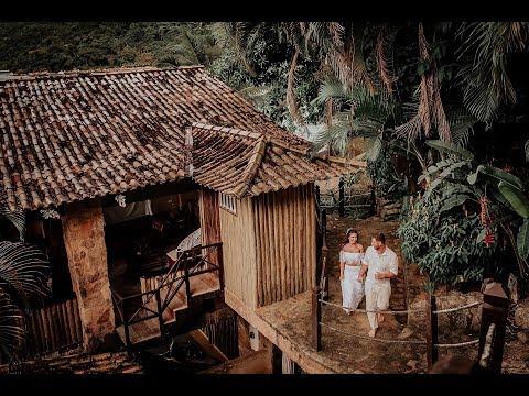 Ensaio Pré Casamento Realizado Em Paraty/RJ - Save The Date - Naira E Bruno