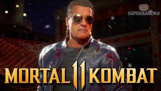 """I HATE PLAYING KOMBAT LEAGUE! - Mortal Kombat 11: """"Terminator"""" Gameplay"""