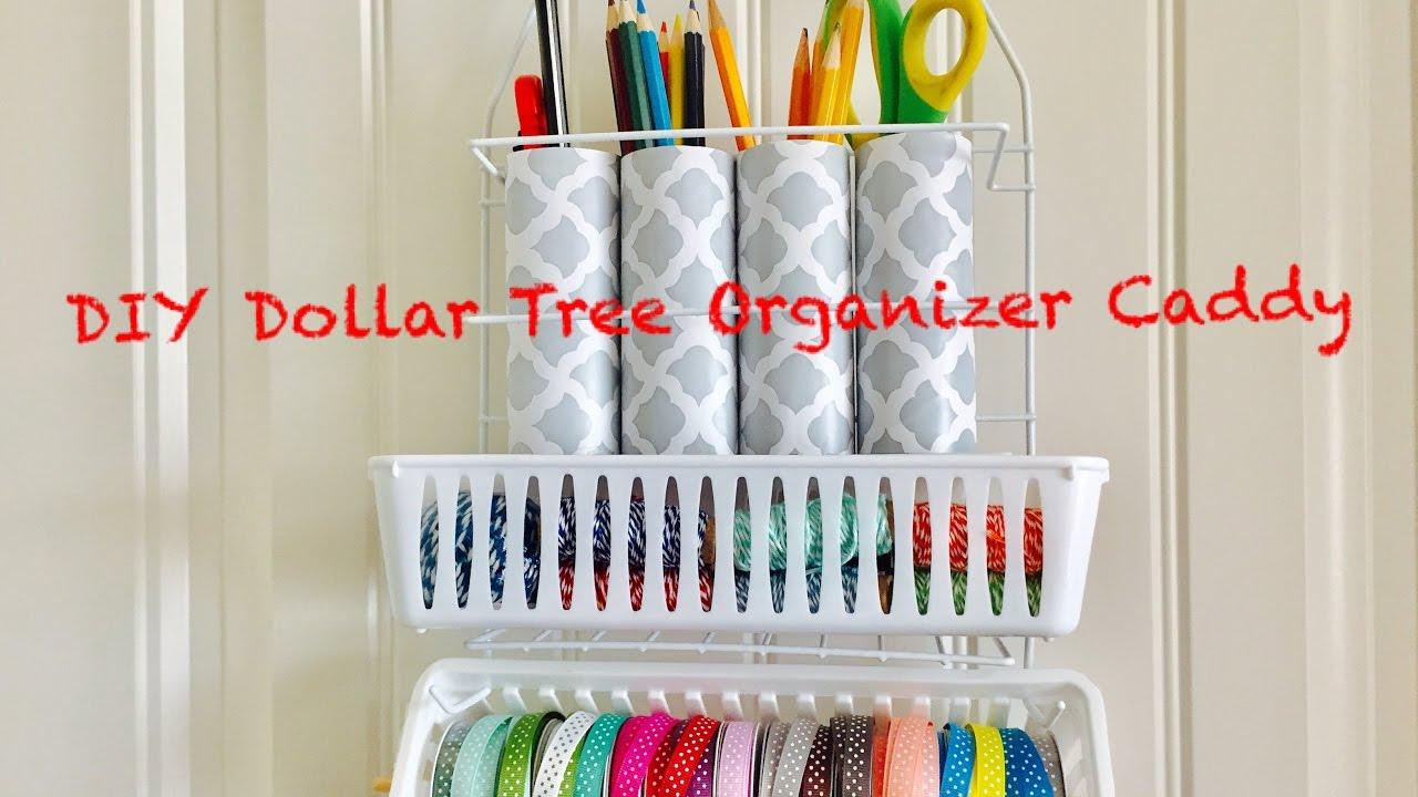diy dollar tree craft organizer caddy easy less than 3 youtube. Black Bedroom Furniture Sets. Home Design Ideas