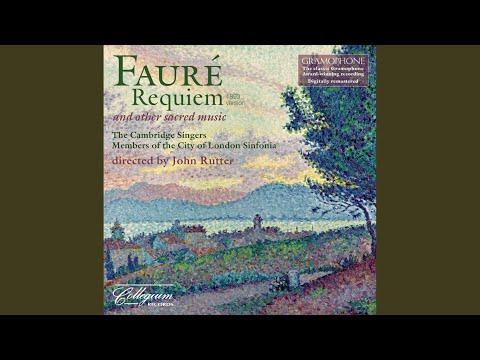 Cantique de Jean Racine, Op. 11 (arr. for choir, violas, cellos, basses and harp)