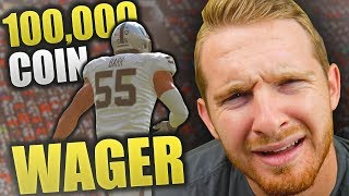 DOMINATION IN 100K WAGER | Madden 19 Ultimate Team 100k Wager