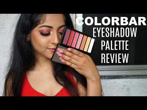 COLORBAR Hook Me Up Eyeshadow Palette | REVIEW - SWATCHES -TUTORIAL | Stacey Castanha
