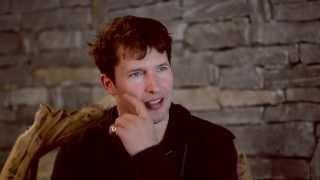 Music Talk Interview with JAMES BLUNT @Zermatt Unplugged 2015