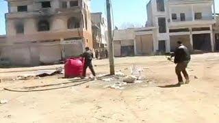 Сирия: уличные бои в Хомсе