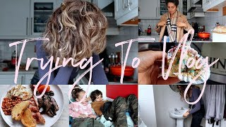 MY NEW HAIR, Lots Of Food & Pottering About The House | Weekend Vlog