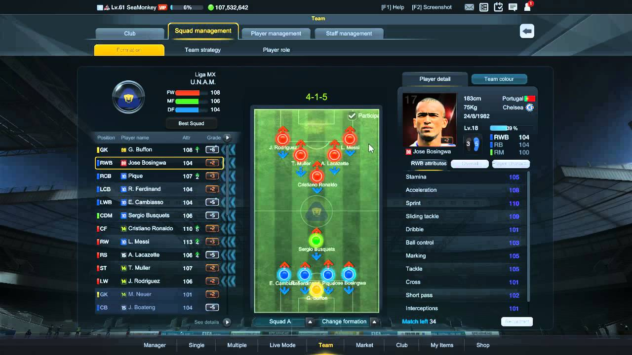 Fifa Online  Long Waited Legendary B Manager Mode Tactic
