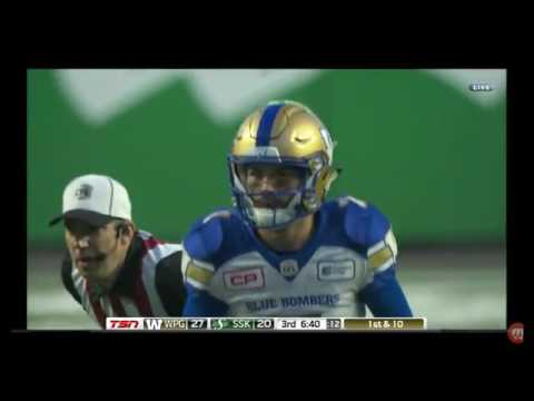2017 Winnipeg at Saskatchewan 3rd Quarter
