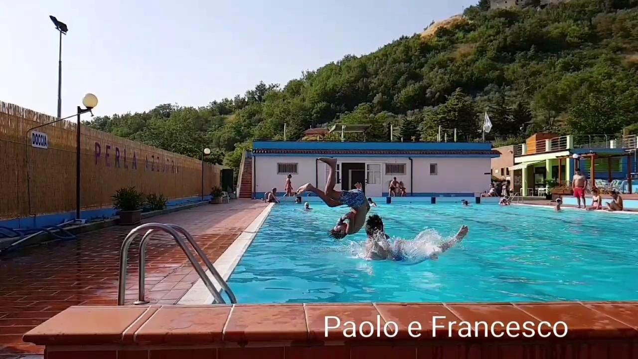 Tuffo paolo e francesco savignano irpino piscina perla azzurra youtube - Piscina seven savignano ...