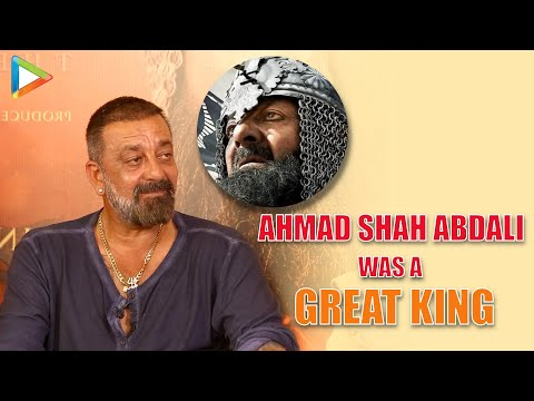 """I disagree that Abdali was a VILLAINOUS character"": Sanjay Dutt 