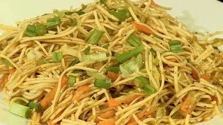 Chinese Veg Noodles | How To Make Chinese Vegetables Noodles By Archana | Street Style Noodle Recipe