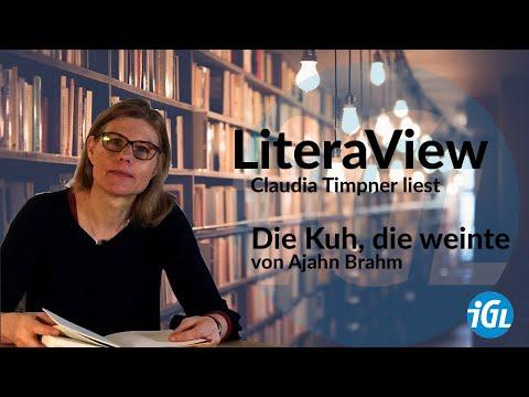 Wir lesen vor - Worte verbinden: #LiteraView mit Claudia Timpner