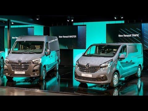 New Renault Master, Traffic Van, Kangoo ZE