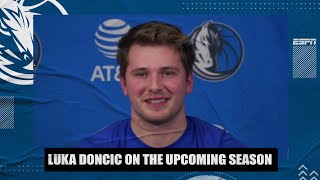 Luka Doncic on how he has prepared for the 2020-21 NBA season | NBA on ESPN