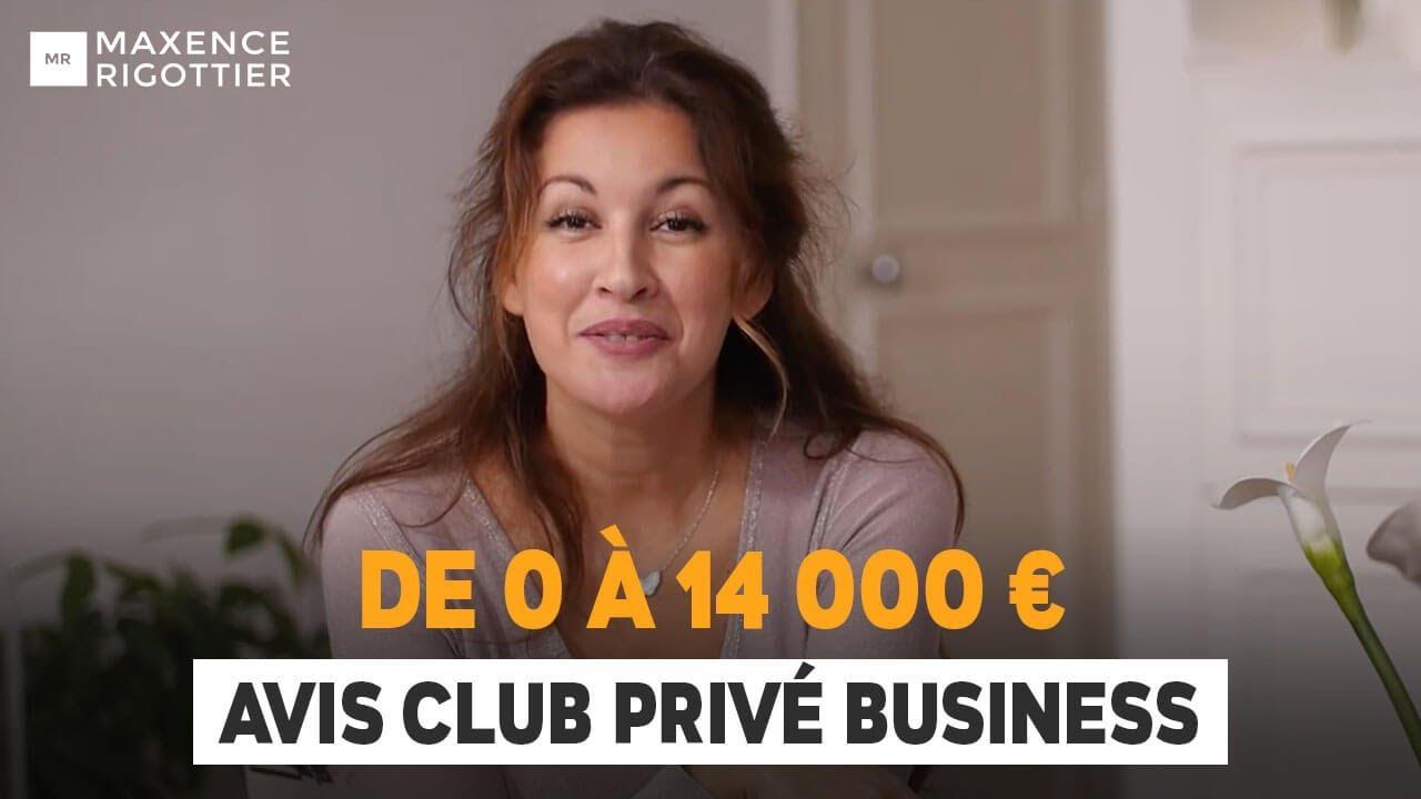 De 0 à 14 000 EUROS en AUTOMATIQUE ! Club Privé Business - Sonia PEREIRA