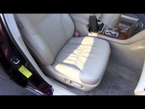 Lexus Seat Cushion Replacement by Cooks Upholstery Redwood City
