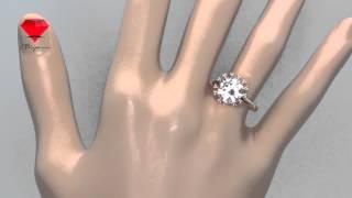 Bije.ru: Позолоченное кольцо с голографическим кристаллом Swarovski Jimmie (Джимми)(, 2015-02-16T12:58:27.000Z)