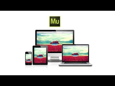 Adobe Muse CC Responsive Web Design | Tutorial | German