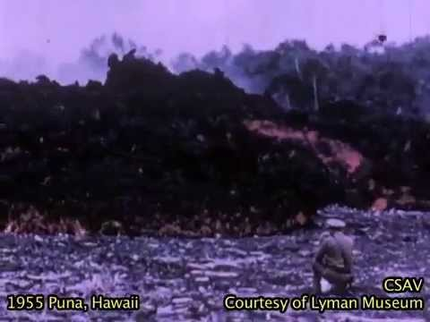 CSAV Hawaii: Short version, 1955 volcanic eruption Puna
