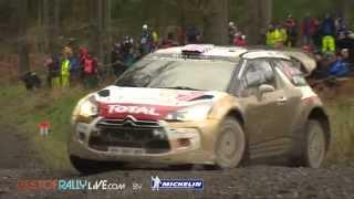 Vid�o Shakedown - 2014 WRC Wales Rally GB