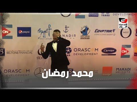 محمد رمضان يشير بـ«نمبر وان» في مهرجان الجونة السينمائي  - 21:54-2019 / 9 / 19