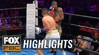 Jesus Ramos' devastating KO punch is a Knockout of the Year candidate | HIGHLIGHTS | PBC ON FOX