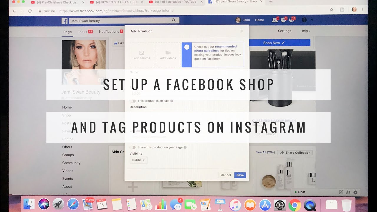 HOW TO SET UP FACEBOOK SHOP | Sell Products Right from Facebook and  Instagram