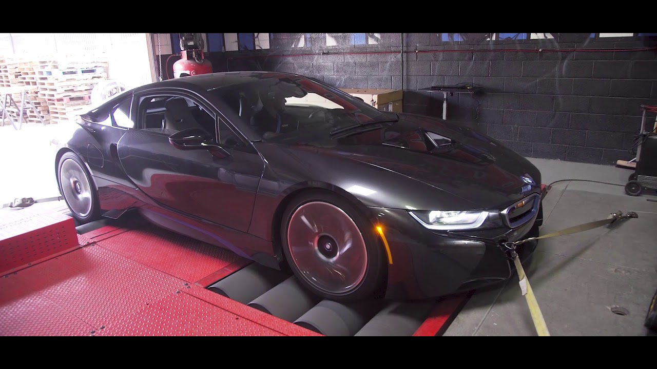 Bmw I8 Hybrid Ecu Tuning And Dyno Test By Vrtuned Youtube